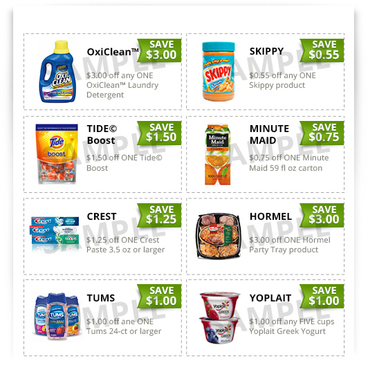 Free grocery coupons discount
